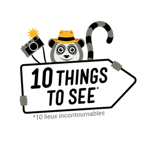 La mascotte de 10 Things To See