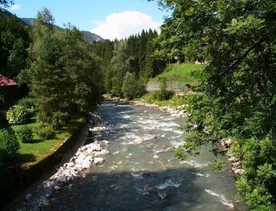 La rivière du Borne