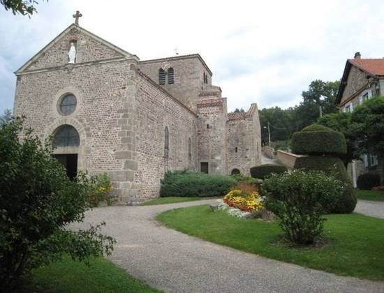 Eglise romane de Salt en Donzy